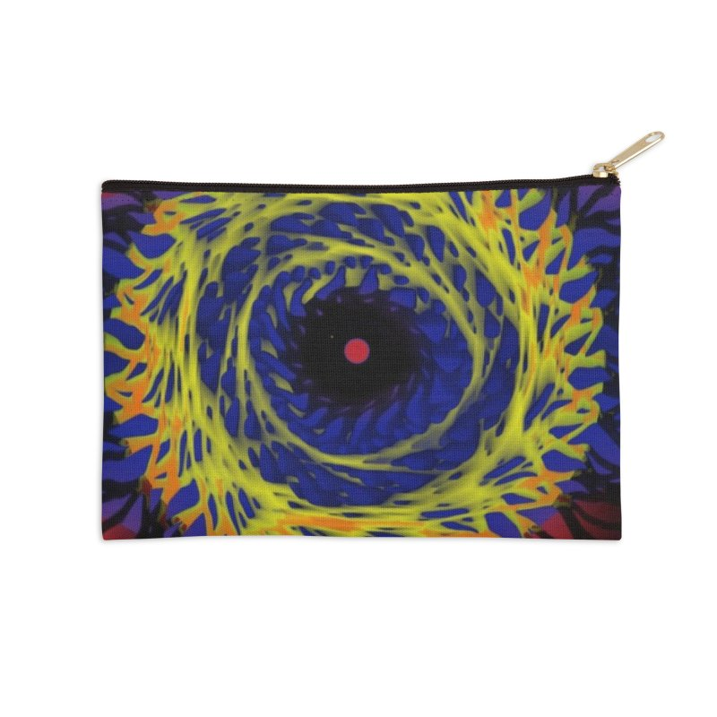 Chaos Eye (Variant) Accessories Zip Pouch by Odd Dad Out Shop