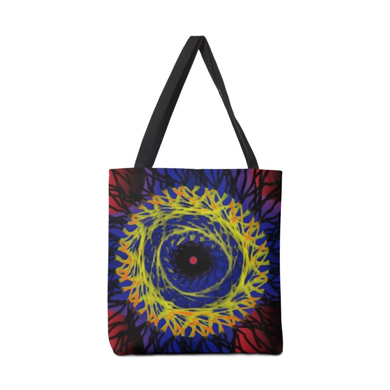 Chaos Eye (Variant) Accessories Bag by Odd Dad Out Shop