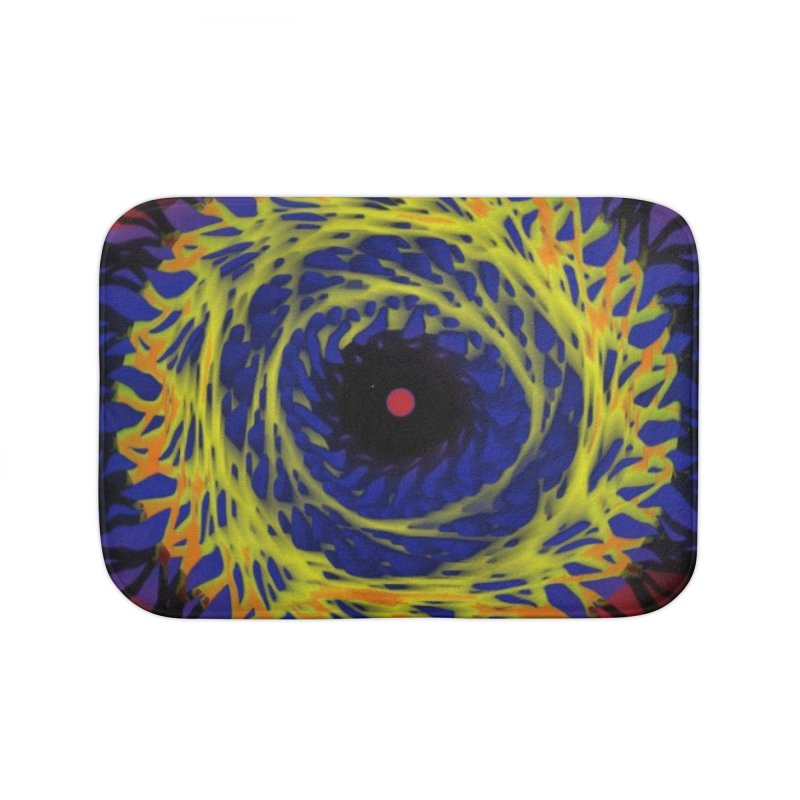 Chaos Eye (Variant) Home Bath Mat by Odd Dad Out Shop