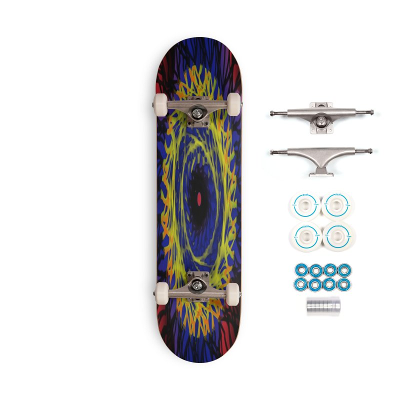 Chaos Eye (Variant) Accessories Skateboard by Odd Dad Out Shop