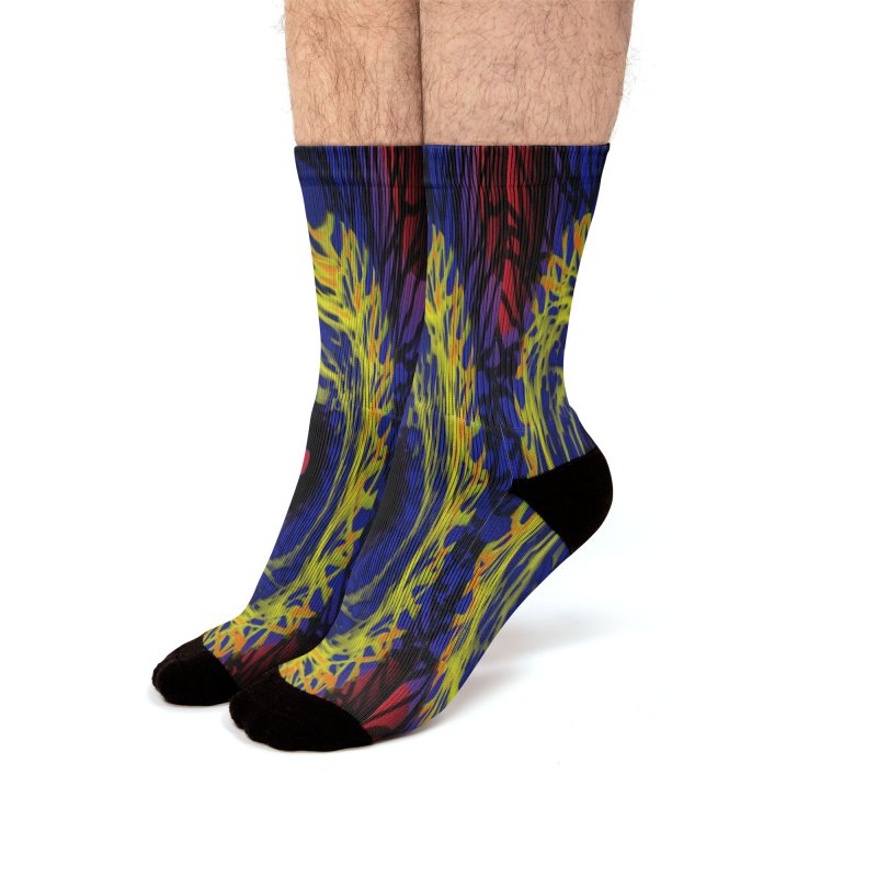 Chaos Eye (Variant) Men's Socks by Odd Dad Out Shop