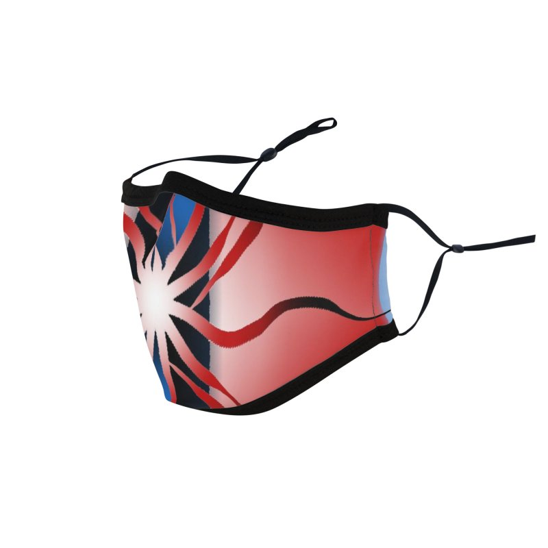 Eruption Accessories Face Mask by Odd Dad Out Shop