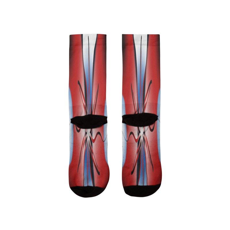 Eruption Men's Socks by Odd Dad Out Shop