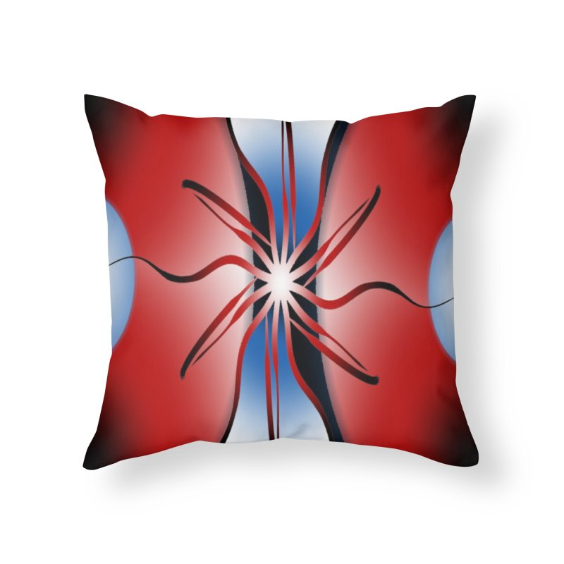 Eruption Home Throw Pillow by Odd Dad Out Shop