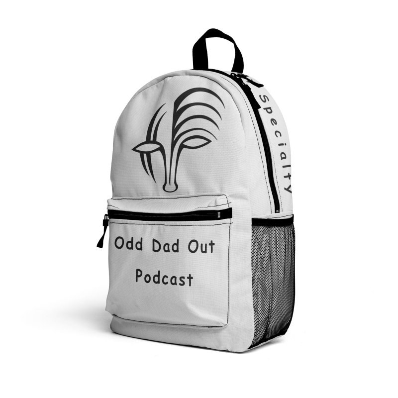 ODO Logo (black) Accessories Bag by Odd Dad Out Shop