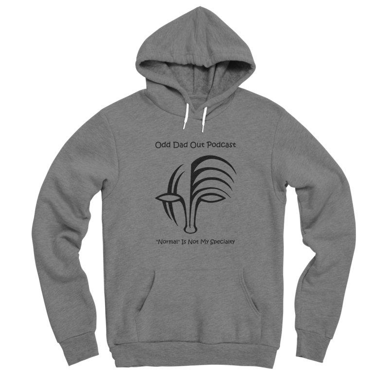ODO Logo (black) Men's Sponge Fleece Pullover Hoody by Odd Dad Out Shop