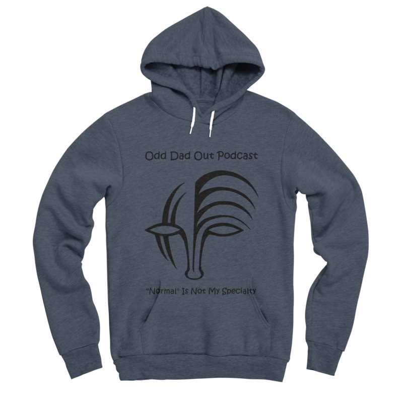 ODO Logo (black) Men's Sponge Fleece Pullover Hoody by Odd Dad Out Podcast Gear
