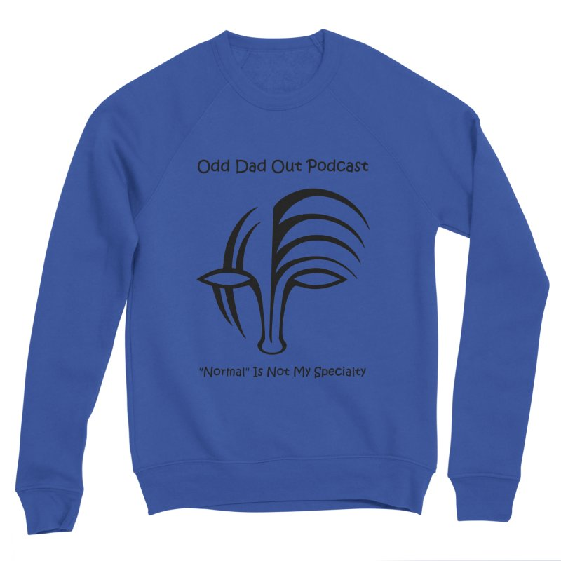 ODO Logo (black) Men's Sponge Fleece Sweatshirt by Odd Dad Out Shop