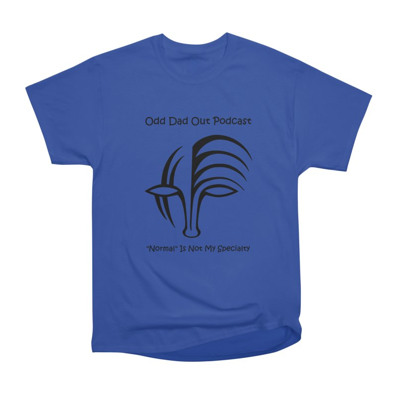 ODO Logo (black) Men's Heavyweight T-Shirt by Odd Dad Out Podcast Gear