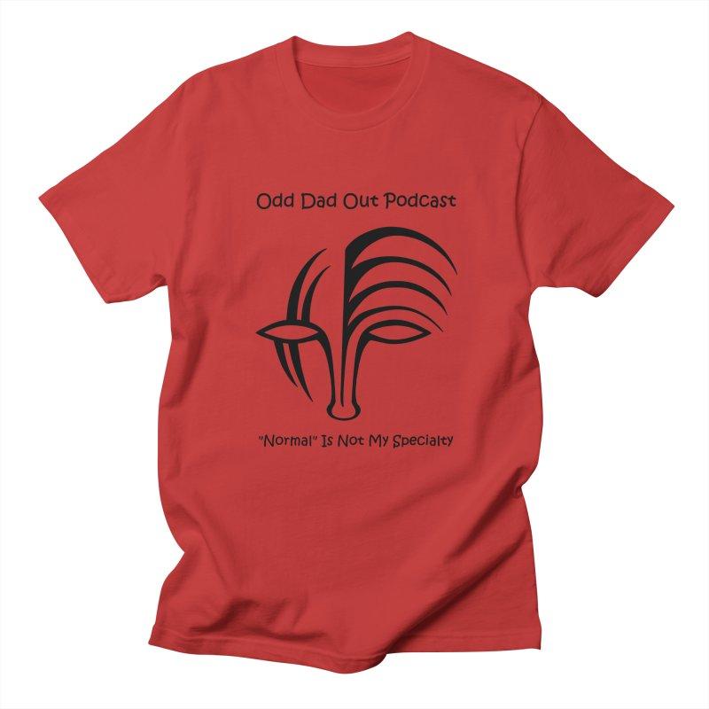 ODO Logo (black) Women's Regular Unisex T-Shirt by Odd Dad Out Shop