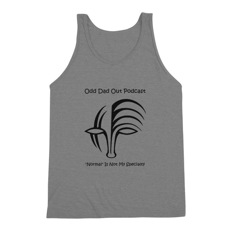 ODO Logo (black) Men's Triblend Tank by Odd Dad Out Podcast Gear