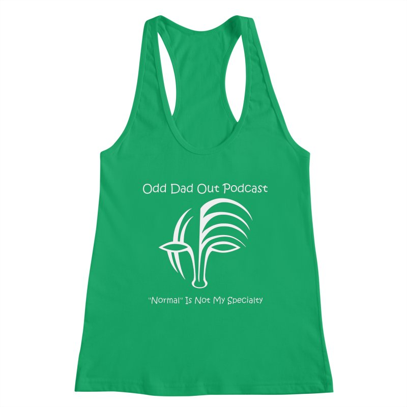 ODO Logo (Inverted) Women's Tank by Odd Dad Out Shop