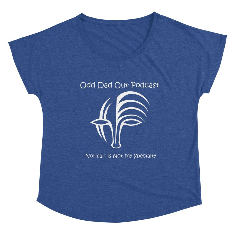 ODO Logo (Inverted) Women's Scoop Neck by Odd Dad Out Shop