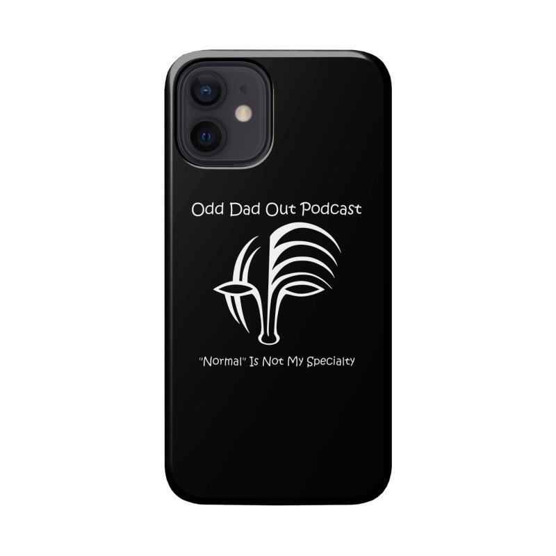 ODO Logo (Inverted) Accessories Phone Case by Odd Dad Out Shop