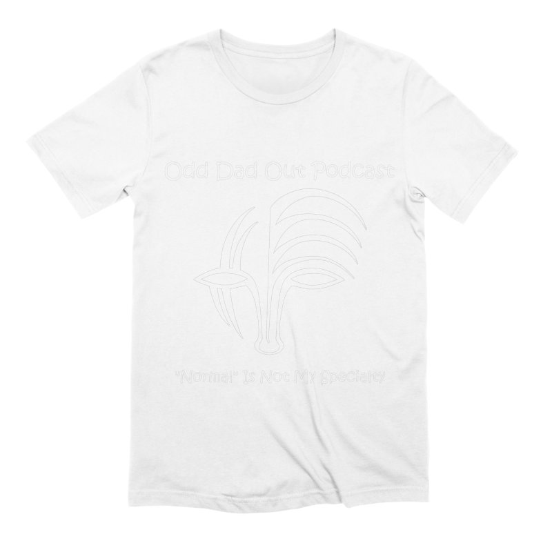 ODO Logo (white) Men's Extra Soft T-Shirt by Odd Dad Out Podcast Gear