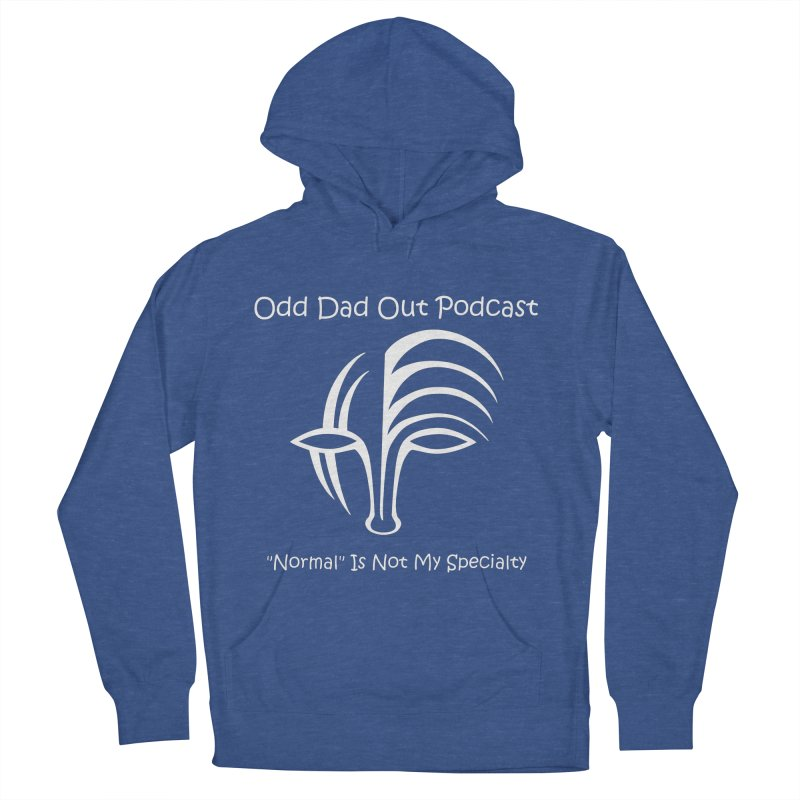 ODO Logo (white) Women's French Terry Pullover Hoody by Odd Dad Out Podcast Gear