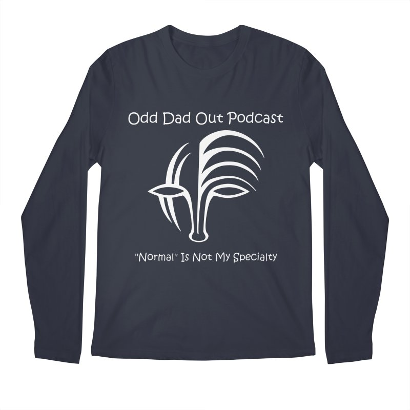 ODO Logo (white) Men's  by Odd Dad Out Podcast Gear