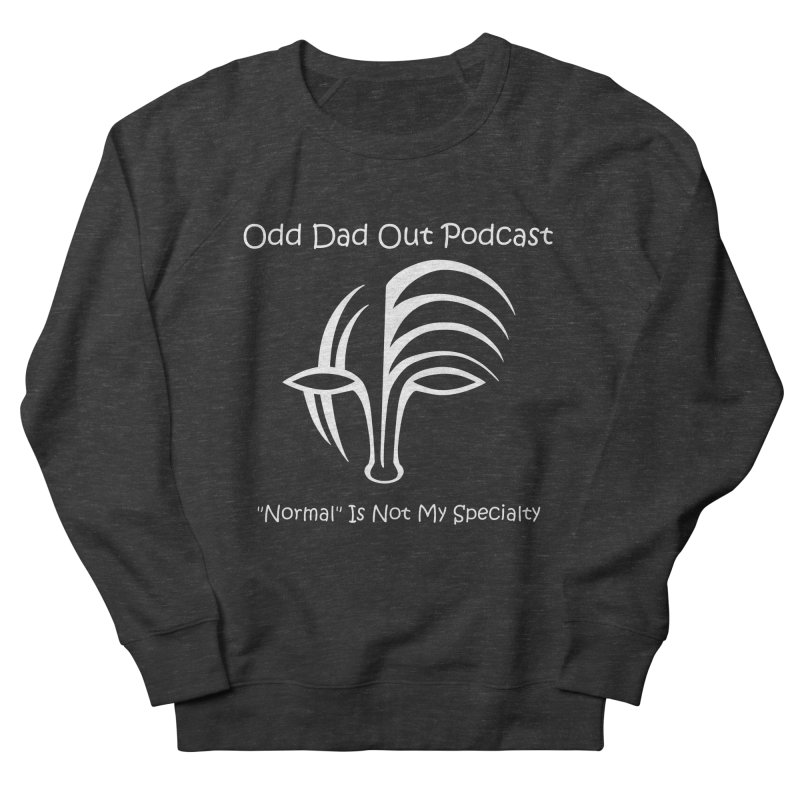ODO Logo (white) Women's  by Odd Dad Out Podcast Gear