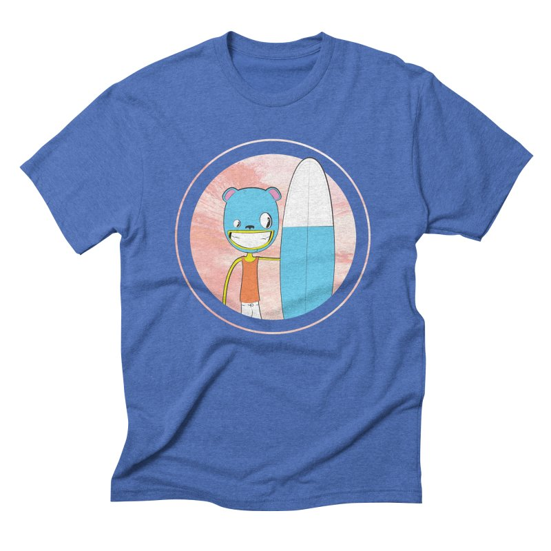 Let's go surfing! Men's Triblend T-shirt by Oddesigners's Artist Shop