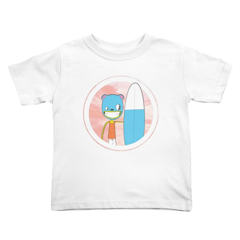 Let's go surfing! Kids Toddler T-Shirt by Oddesigners's Artist Shop