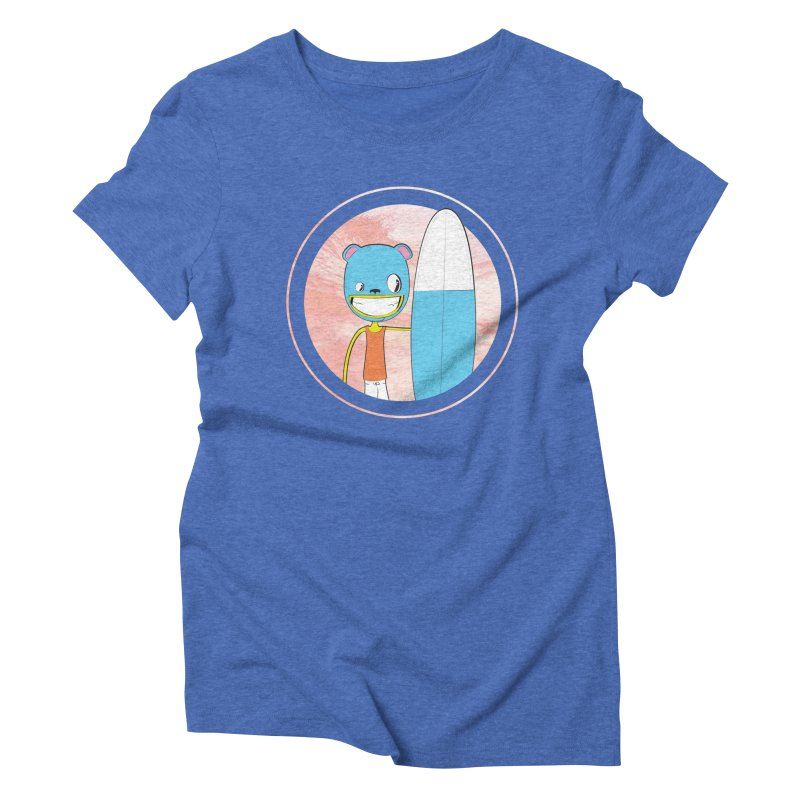 Let's go surfing! Women's Triblend T-shirt by Oddesigners's Artist Shop