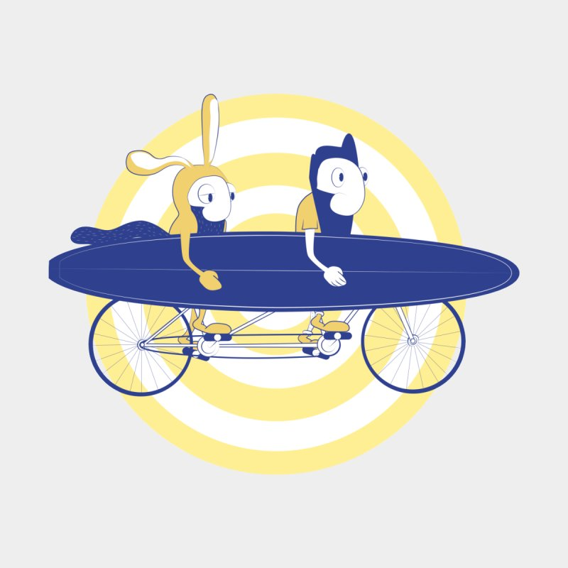 Gotta get to the surf brah! by Oddesigners's Artist Shop