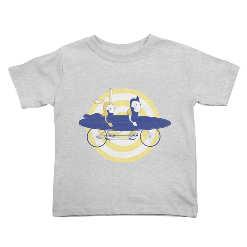 Gotta get to the surf brah! Kids Toddler T-Shirt by Oddesigners's Artist Shop