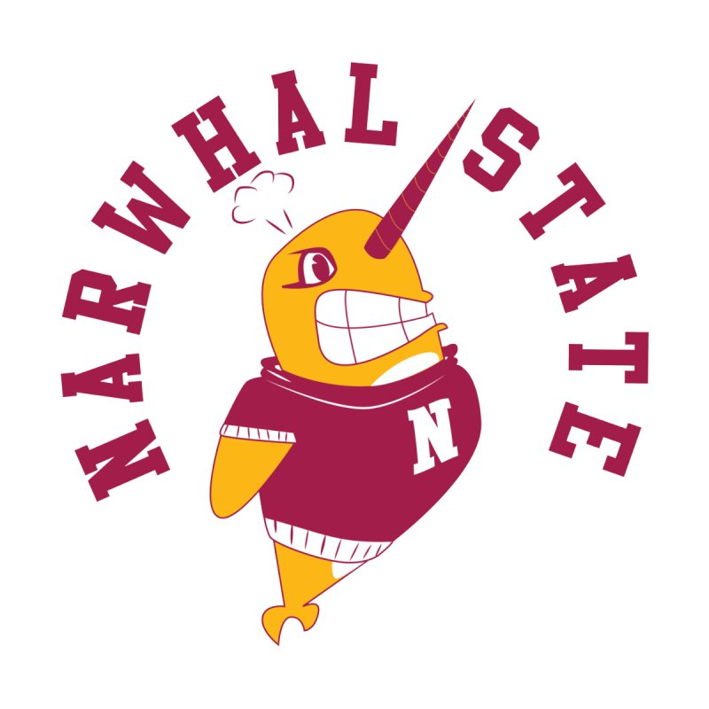 Narwhal State Men's Triblend T-Shirt by Oddesigners's Artist Shop
