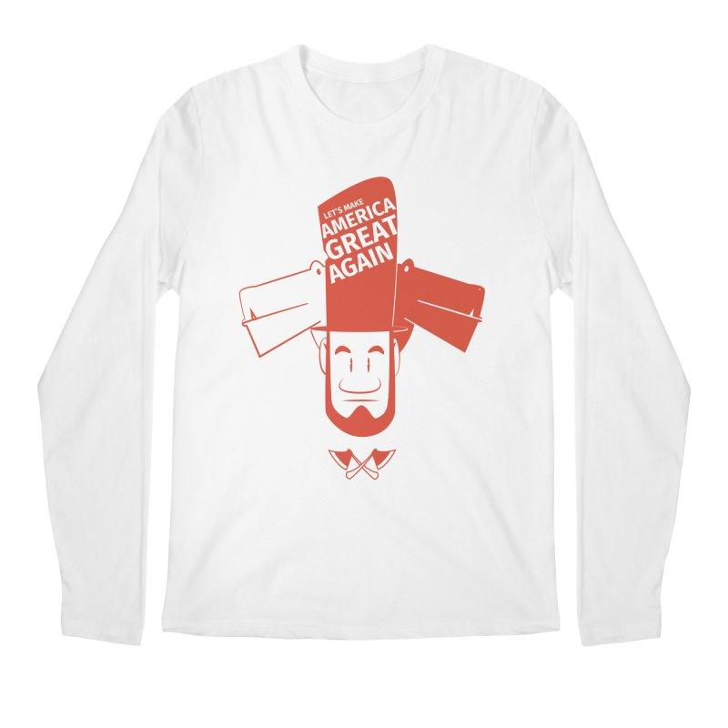 Let's make America GREAT AGAIN! Men's Regular Longsleeve T-Shirt by Oddesigners's Artist Shop