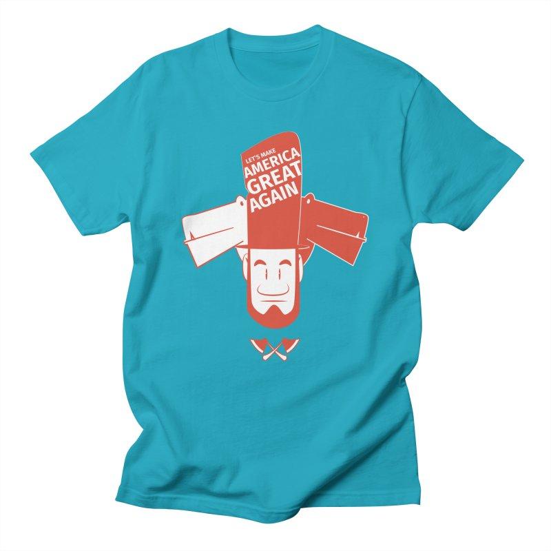 Let's make America GREAT AGAIN! Women's Regular Unisex T-Shirt by Oddesigners's Artist Shop