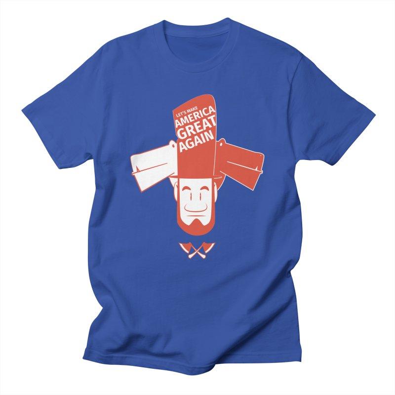 Let's make America GREAT AGAIN! Men's T-Shirt by Oddesigners's Artist Shop