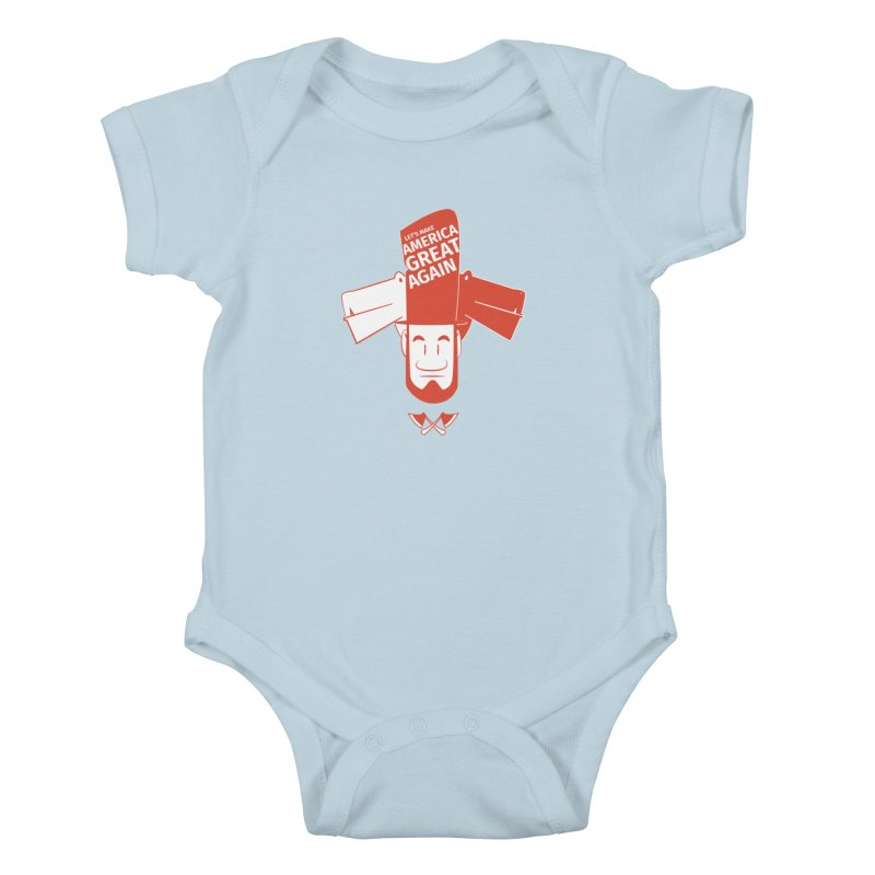 Let's make America GREAT AGAIN! Kids Baby Bodysuit by Oddesigners's Artist Shop