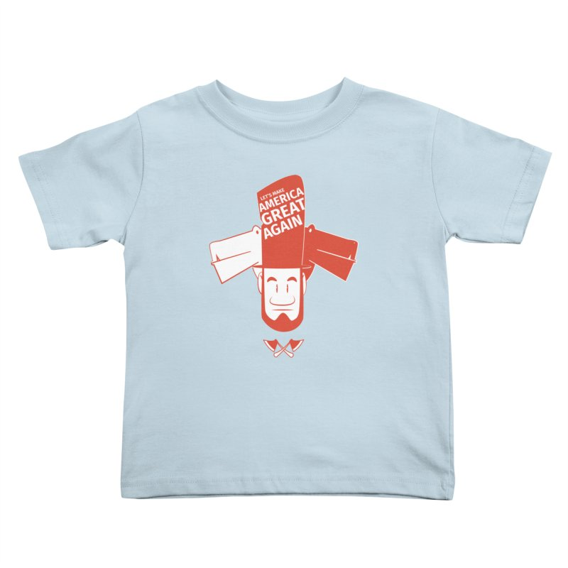 Let's make America GREAT AGAIN! Kids Toddler T-Shirt by Oddesigners's Artist Shop