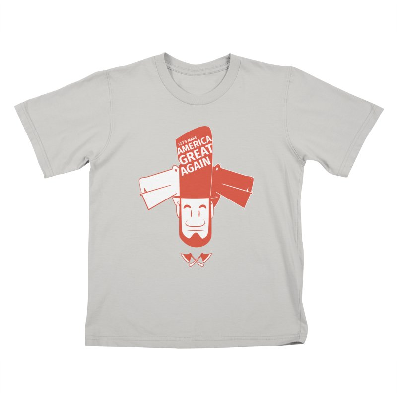 Let's make America GREAT AGAIN! Kids T-shirt by Oddesigners's Artist Shop