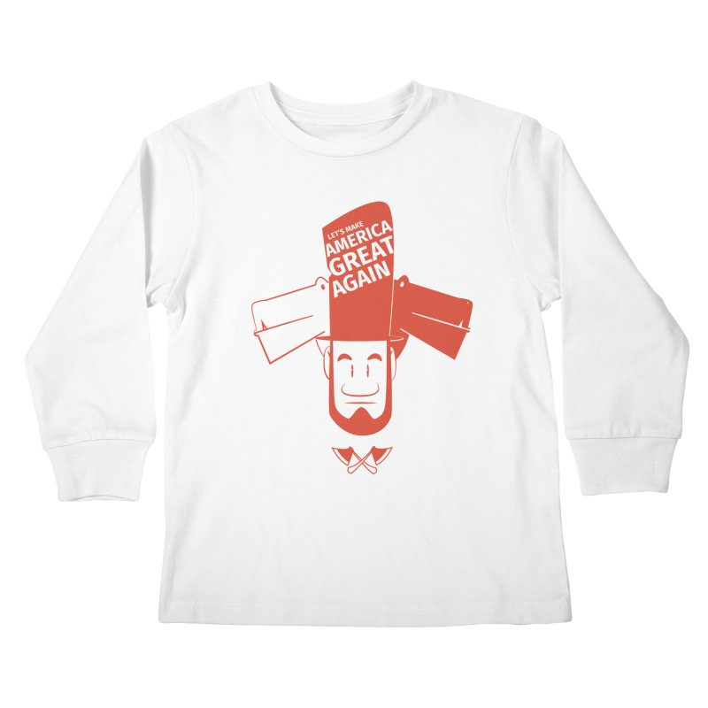 Let's make America GREAT AGAIN! Kids Longsleeve T-Shirt by Oddesigners's Artist Shop
