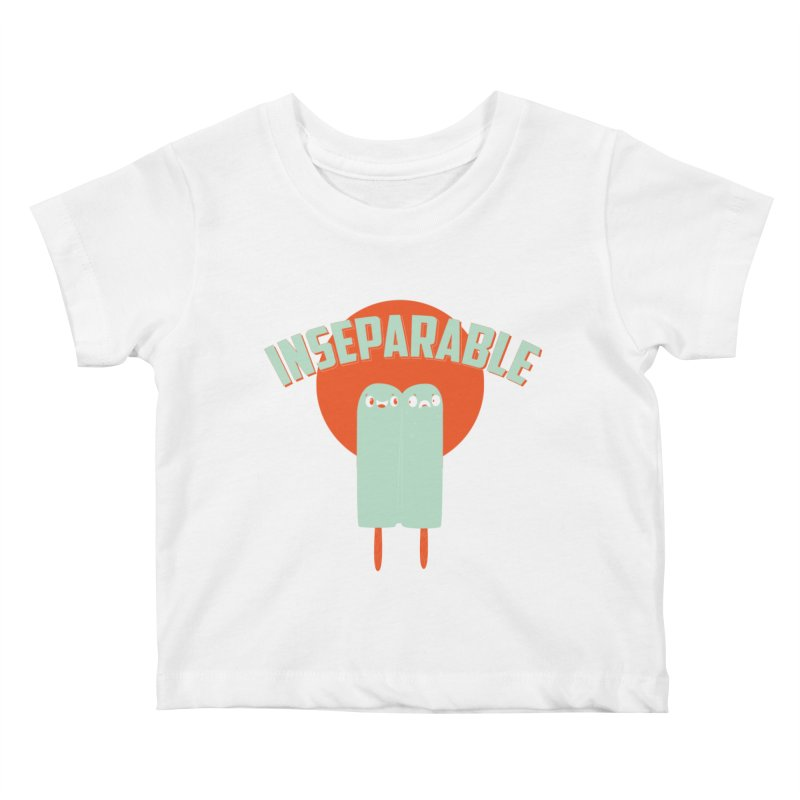 Inseparable! Kids Baby T-Shirt by Oddesigners's Artist Shop