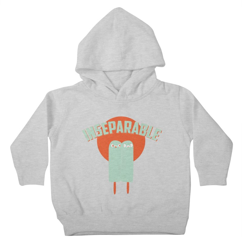 Inseparable! Kids Toddler Pullover Hoody by Oddesigners's Artist Shop