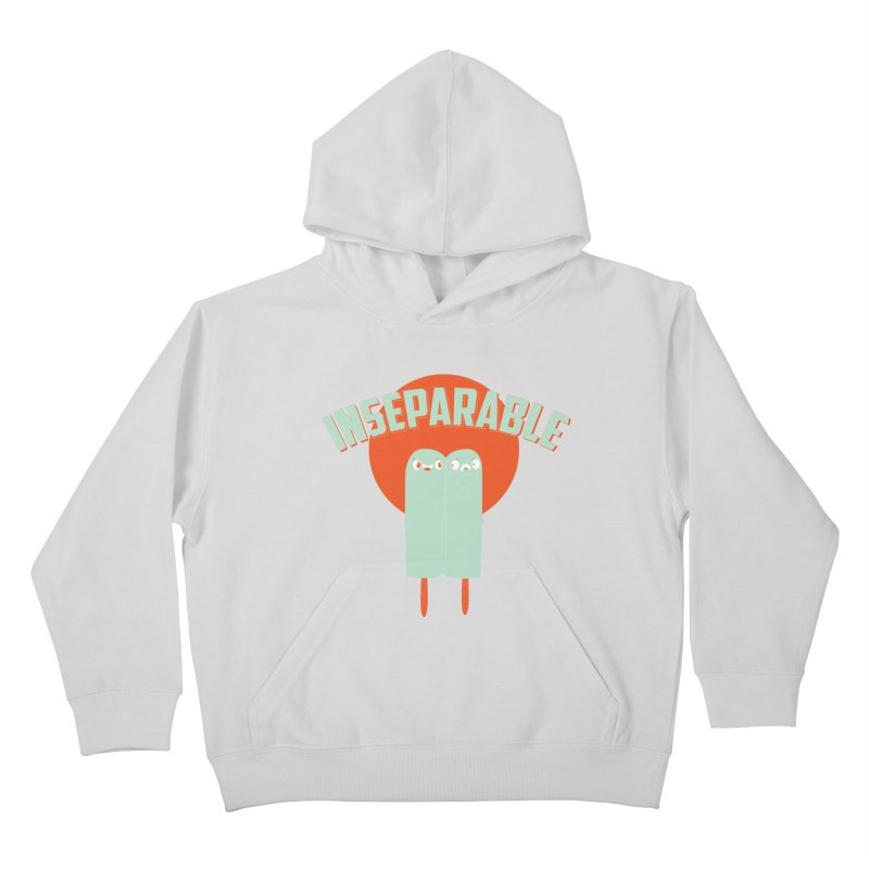 Inseparable! Kids Pullover Hoody by Oddesigners's Artist Shop