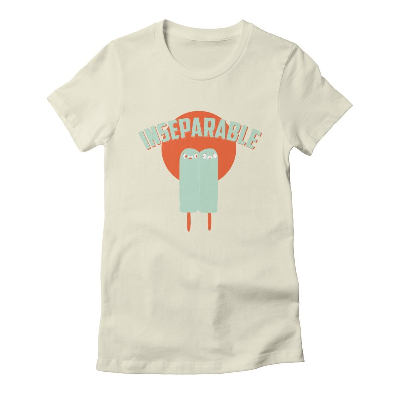 Inseparable! Women's Fitted T-Shirt by Oddesigners's Artist Shop