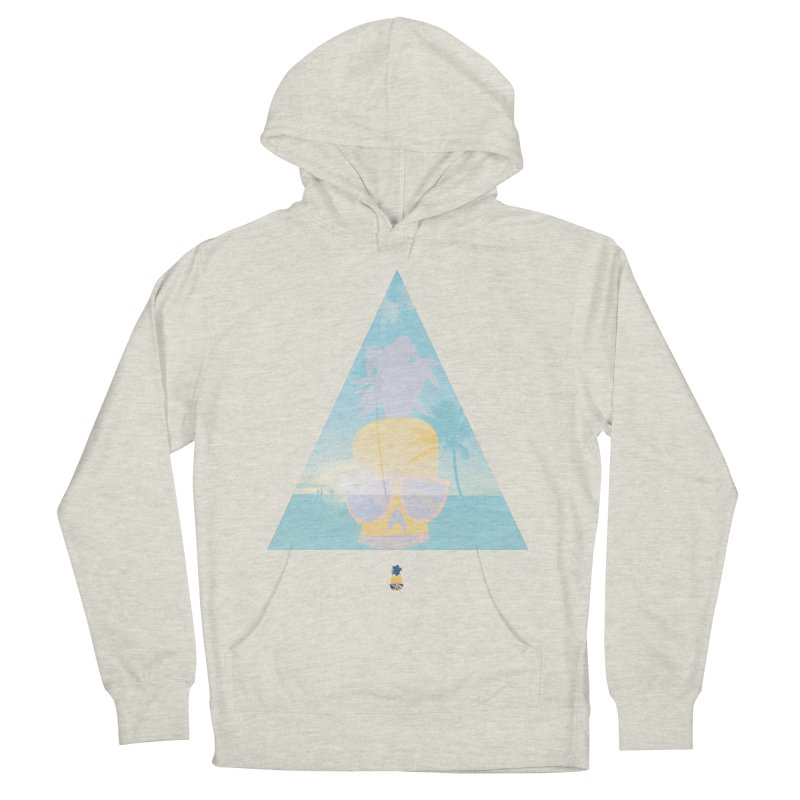 Pineapple beach Men's Pullover Hoody by Oddesigners's Artist Shop
