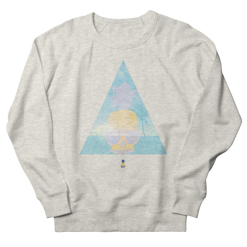 Pineapple beach Men's French Terry Sweatshirt by Oddesigners's Artist Shop
