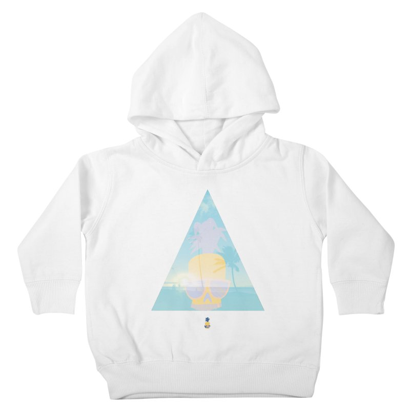 Pineapple beach Kids Toddler Pullover Hoody by Oddesigners's Artist Shop