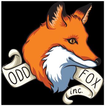 Odd Fox's Artist Shop Logo