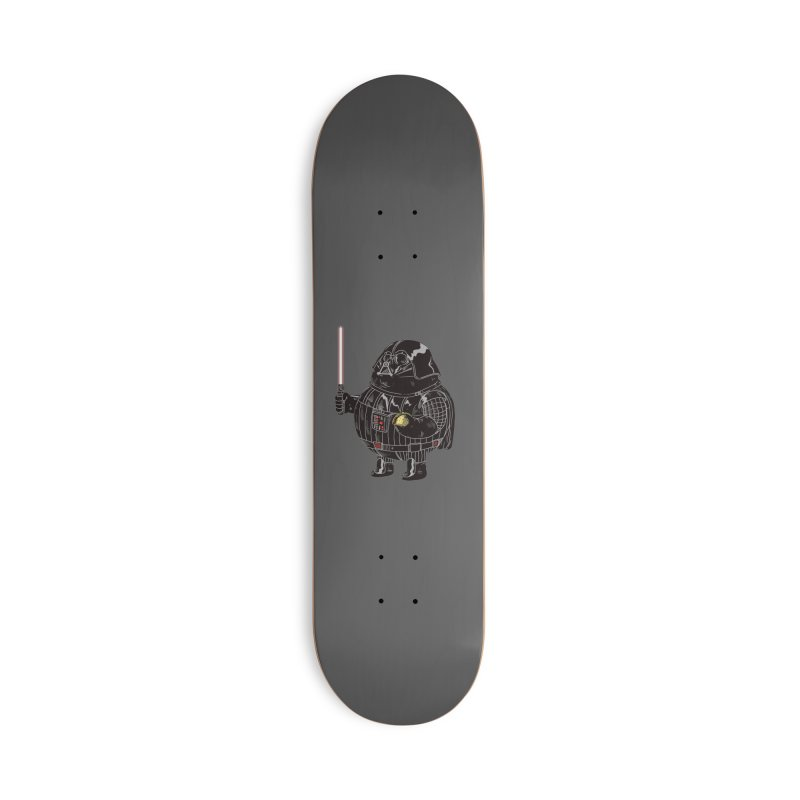 Chunky Dark Lord in Deck Only Skateboard by Alex Solis Merch Shop
