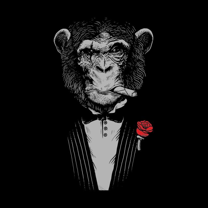 Monkey Business Men's Zip-Up Hoody by Alex Solis Merch Shop