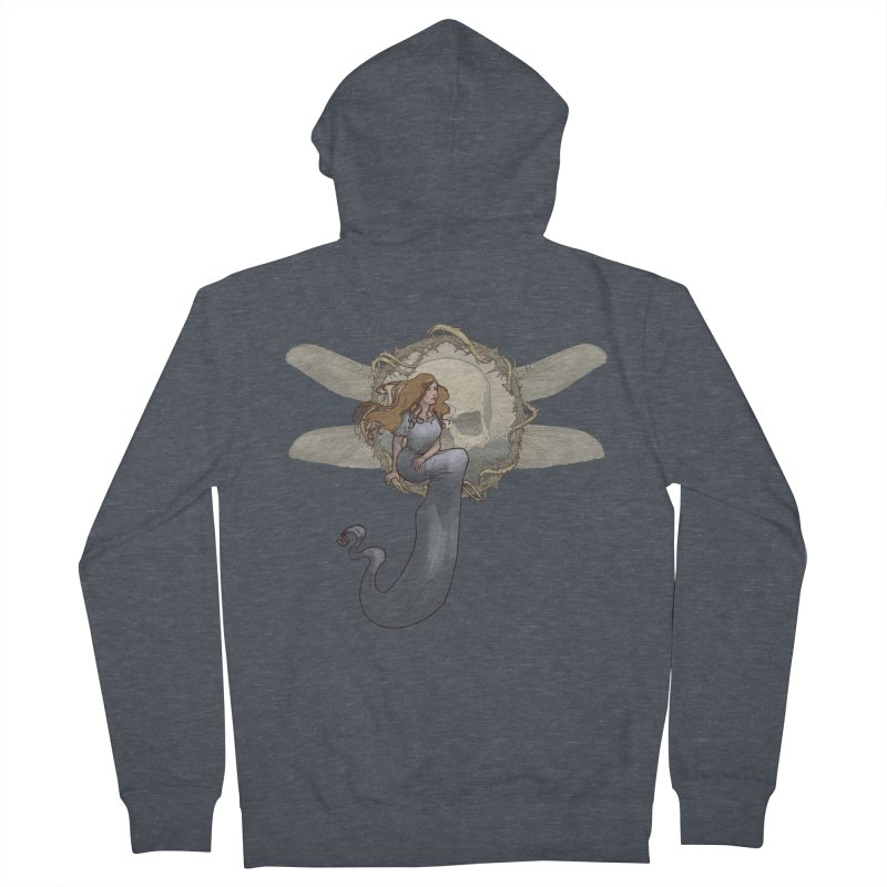 Dragonfly Men's Zip-Up Hoody by odiolitos's Artist Shop