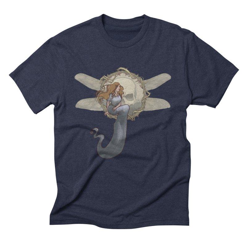 Dragonfly Men's Triblend T-Shirt by odiolitos's Artist Shop
