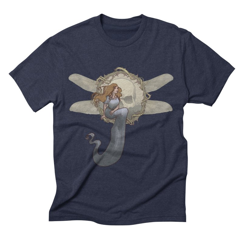 Dragonfly Men's Triblend T-shirt by odiolitos's Artist Shop