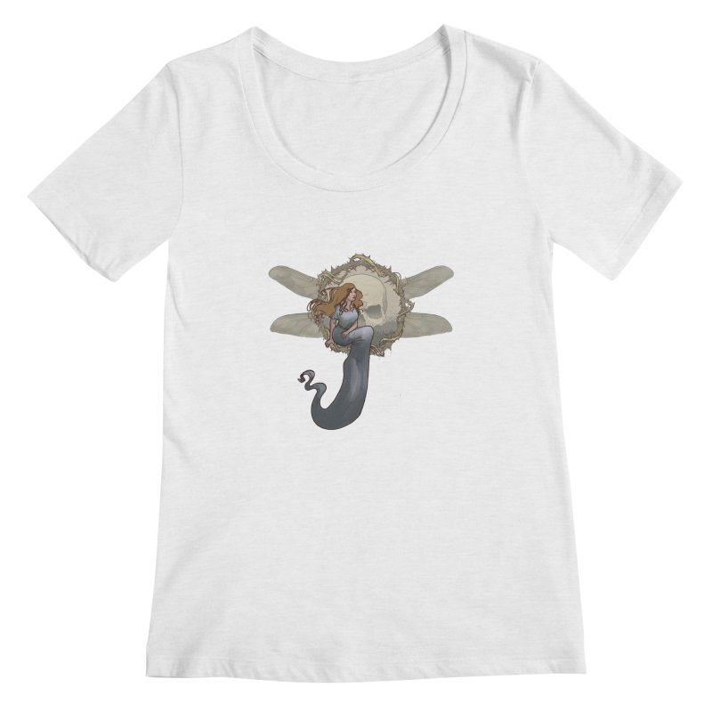 Dragonfly Women's Scoopneck by odiolitos's Artist Shop