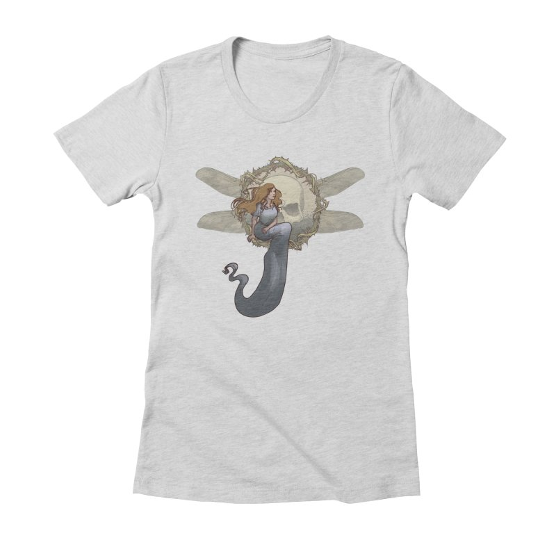 Dragonfly Women's Fitted T-Shirt by odiolitos's Artist Shop